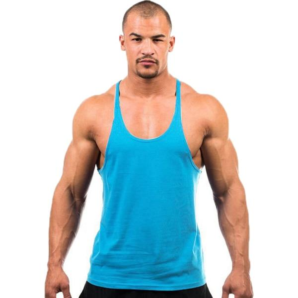 Gym Accessories Online Light Blue / M Daily Fitness Stringer Tank Top