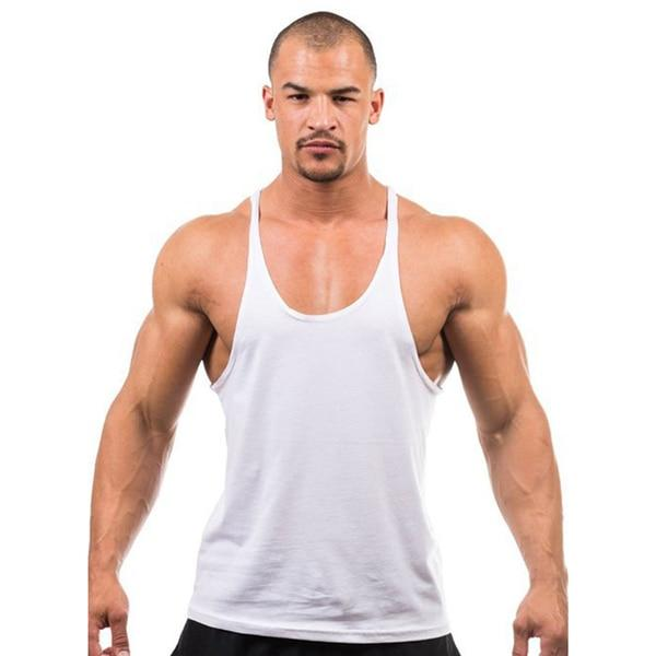 Gym Accessories Online White / M Daily Fitness Stringer Tank Top