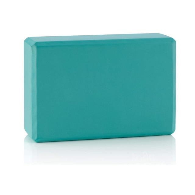 Gym Accessories Online Green Eva Foam Yoga Block / Brick