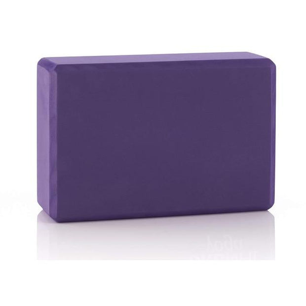 Gym Accessories Online Violet Eva Foam Yoga Block / Brick