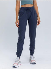 Gym Accessories Online Midnight Blue / S Fitness Sweatpants with Two Side Pockets