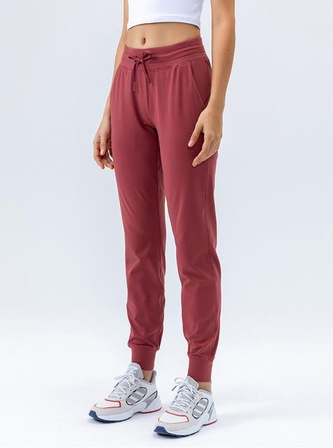 Gym Accessories Online So Merlot / XL Fitness Sweatpants with Two Side Pockets