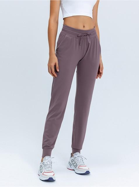 Gym Accessories Online Lavender / XL Fitness Sweatpants with Two Side Pockets