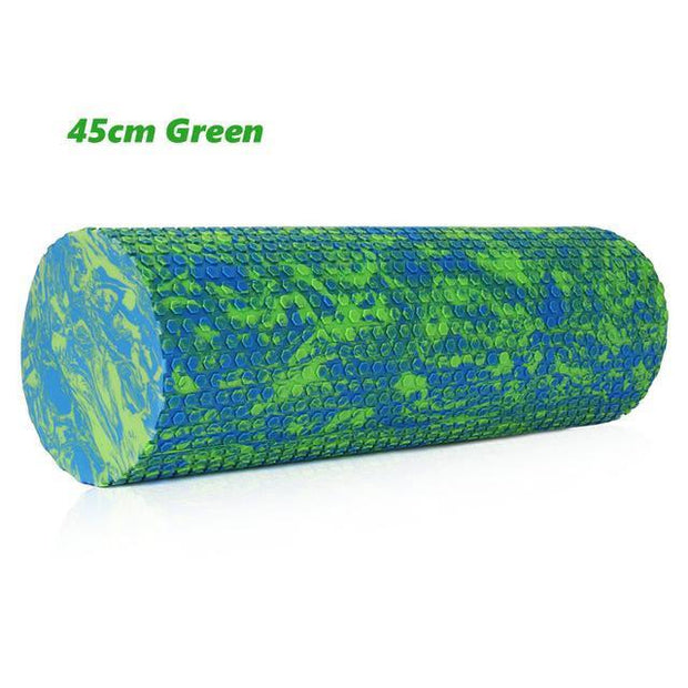 Gym accessories online Gym equipment Green 45cm Fitness Yoga Foam Roller