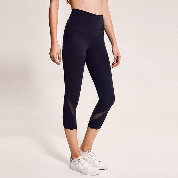 Gym Accessories Online Black / L High Waist Skinny Stretch Yoga Pants Capris