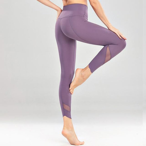Gym Accessories Online Gray Dawan / S High Waist Skinny Stretch Yoga Pants Capris