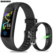 Gym Accessories Online Black Lige Smartwatch Fitness Tracker with Heart Rate Sensor