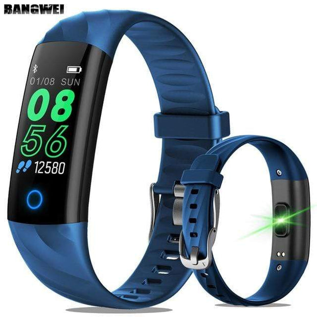 Gym Accessories Online blue Lige Smartwatch Fitness Tracker with Heart Rate Sensor