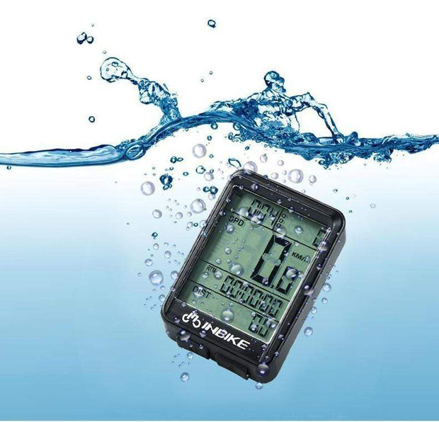 Gym accessories online Cycling MTB Waterproof  Computer with Speedometer Wireless & Wired