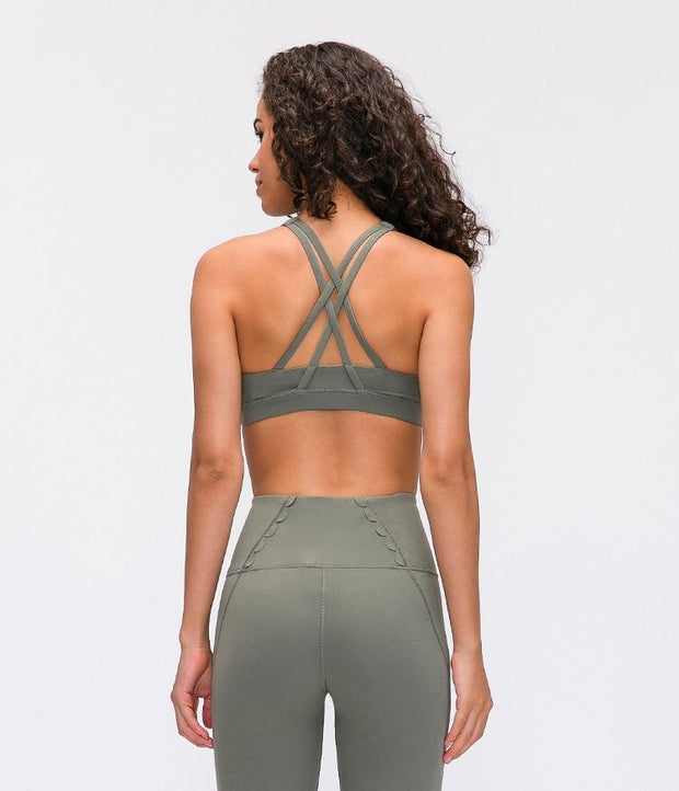 Gym Accessories Online Naked-feel Anti-Sweat Yoga/Fitness Top