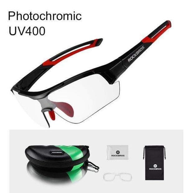 Gym accessories online glasses Style 106 Photochromic Cycling Glasses