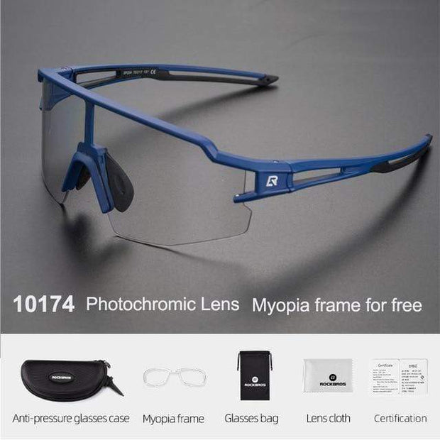 Gym accessories online glasses Style 204 Photochromic Cycling Glasses