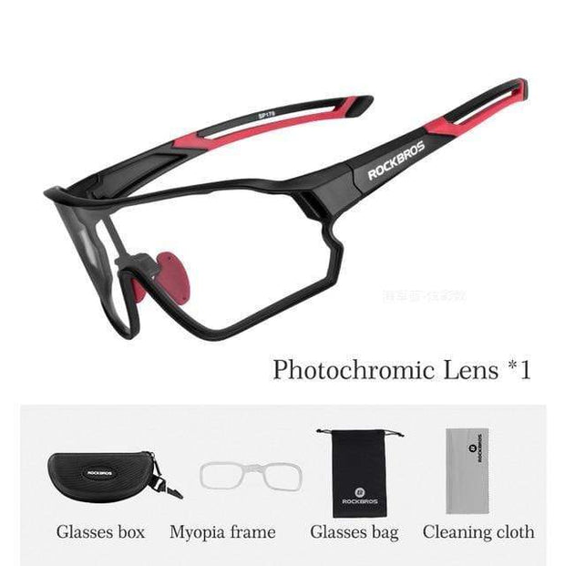 Gym accessories online glasses Style 107 Photochromic Cycling Glasses