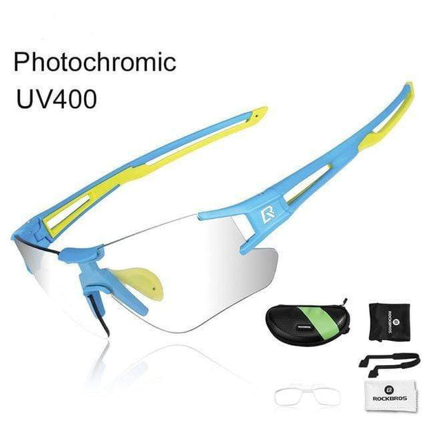 Gym accessories online glasses Style 102 Photochromic Cycling Glasses