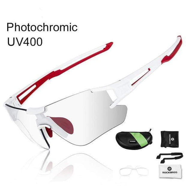 Gym accessories online glasses Style 104 Photochromic Cycling Glasses