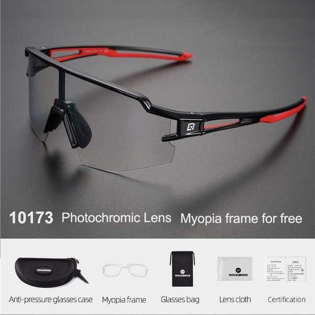 Gym accessories online glasses Style 203 Photochromic Cycling Glasses