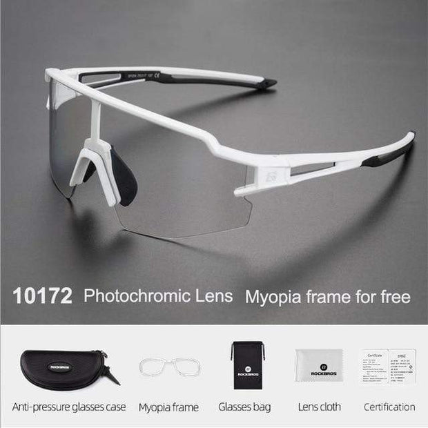 Gym accessories online glasses Style 202 Photochromic Cycling Glasses