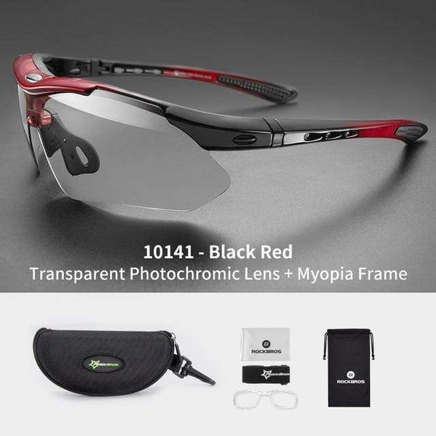 Gym accessories online glasses Style 201 Photochromic Cycling Glasses
