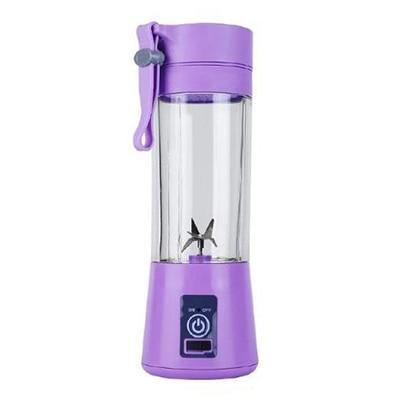 Gym accessories online Gym equipment Purple / 6 blades Portable Smoothie Blender with USB charging option for Outdoor use