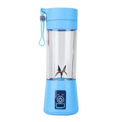 Gym accessories online Gym equipment Blue / 4 blades Portable Smoothie Blender with USB charging option for Outdoor use