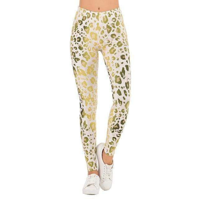 Gym accessories online Leggings lga601911 / One Size Printed Yoga & Fitness Leggings
