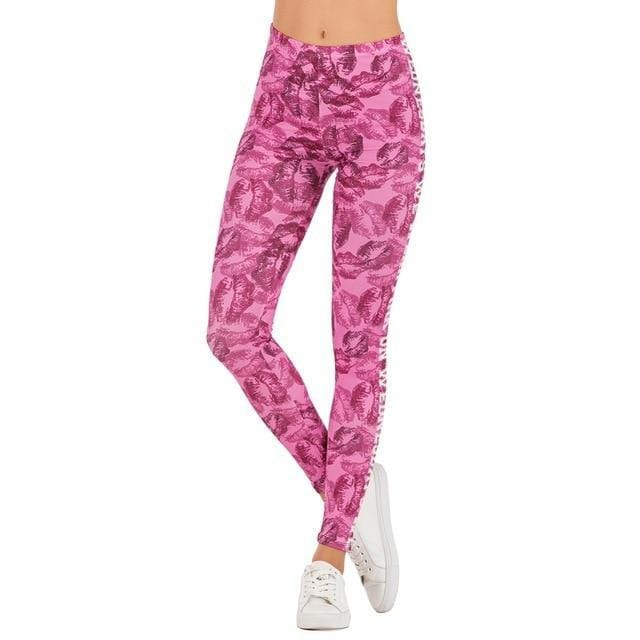 Gym accessories online Leggings lga601666 / One Size Printed Yoga & Fitness Leggings
