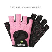 Gym accessories online Gloves XG07 Honeycomb Pink / S Professional Gym Gloves Weight Lifting Women