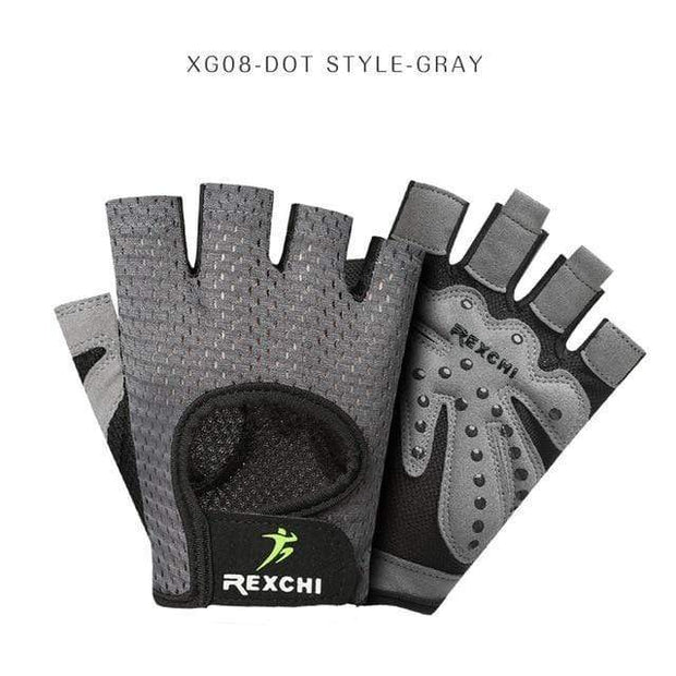 Gym accessories online Gloves XG08 Dot Gray / S Professional Gym Gloves Weight Lifting Women