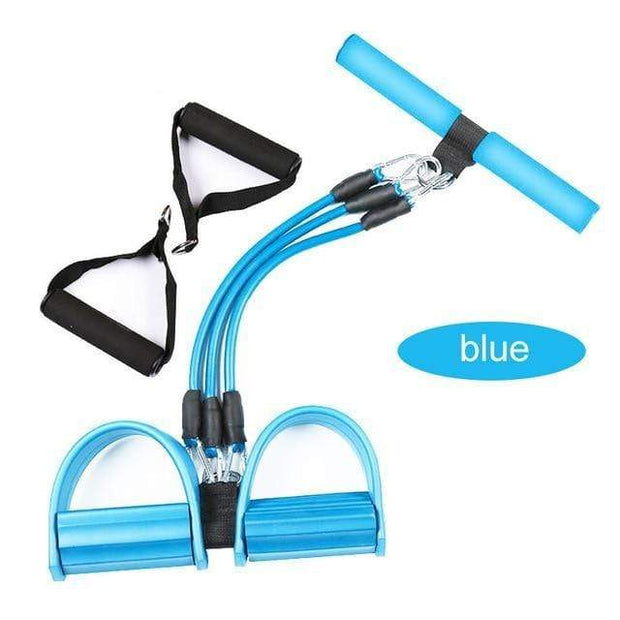 Gym accessories online Gym equipment Pro blue Resistance Bands  Pedal Exerciser