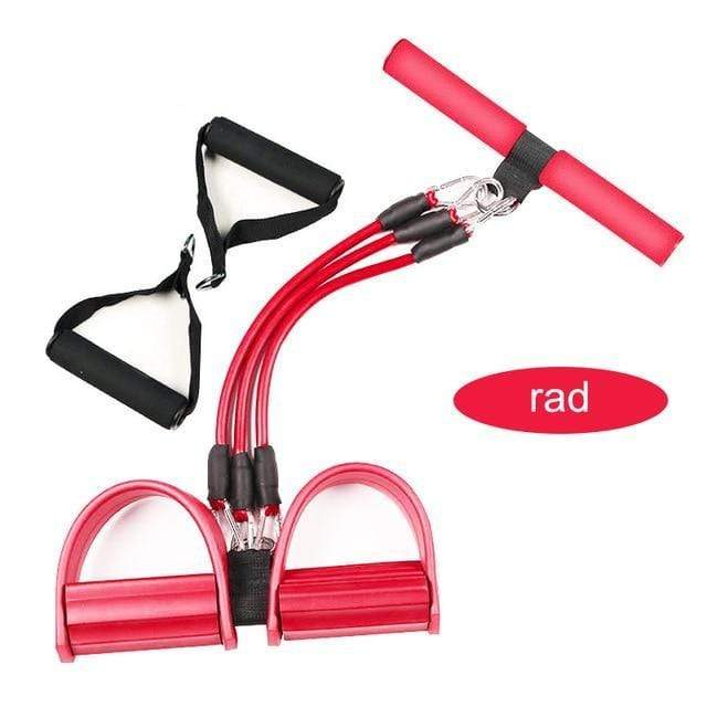 Gym accessories online Gym equipment Pro red Resistance Bands  Pedal Exerciser