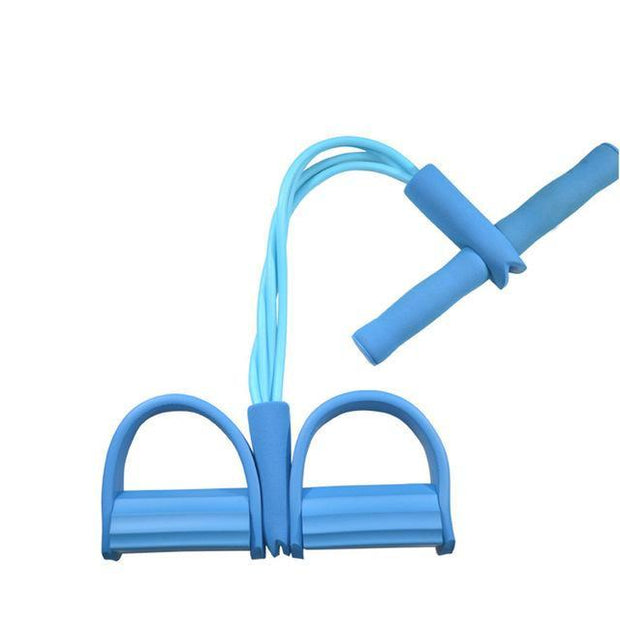 Gym accessories online Gym equipment Blue Resistance Bands  Pedal Exerciser