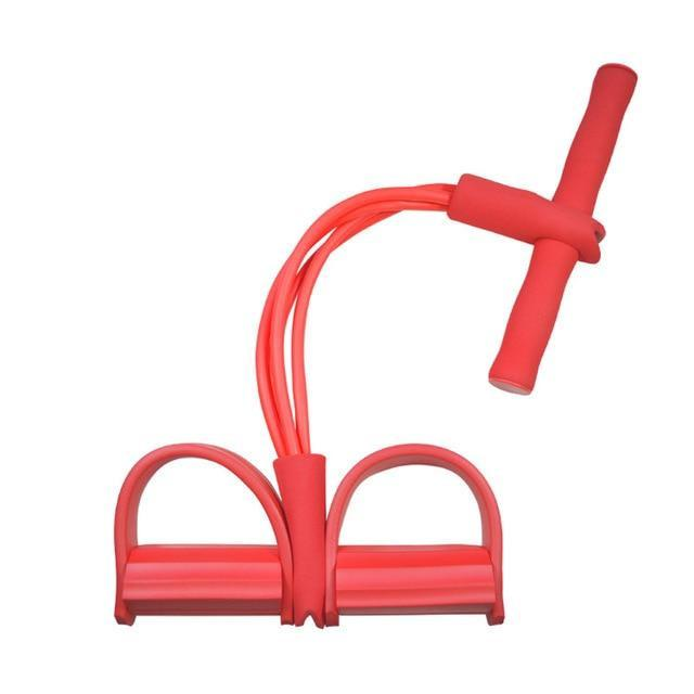 Gym accessories online Gym equipment Red Resistance Bands  Pedal Exerciser