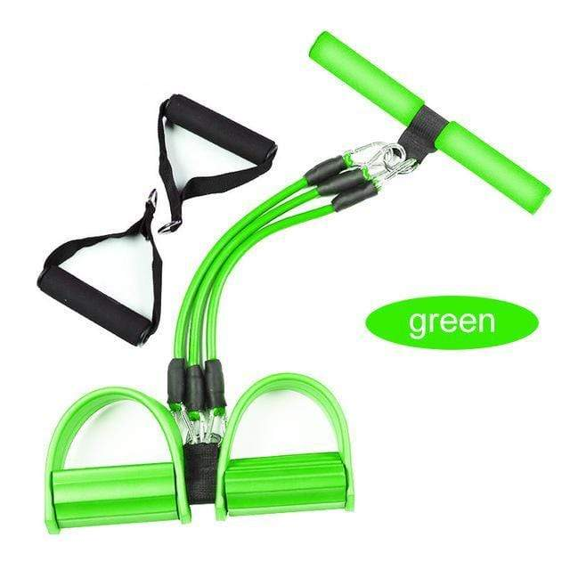 Gym accessories online Gym equipment Pro green Resistance Bands  Pedal Exerciser