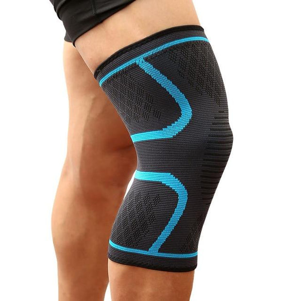 Gym Accessories Online Blue / M Running / Cycling  Elastic Knee Support