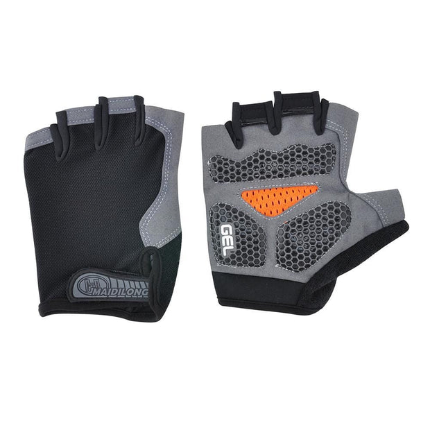Gym accessories online Cycling Silicone Cycling Anti-slip Half Finger Breathable Gloves