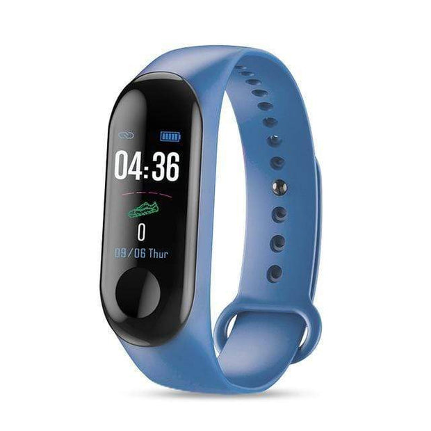 Gym accessories online blue Smart Fitness Tracker