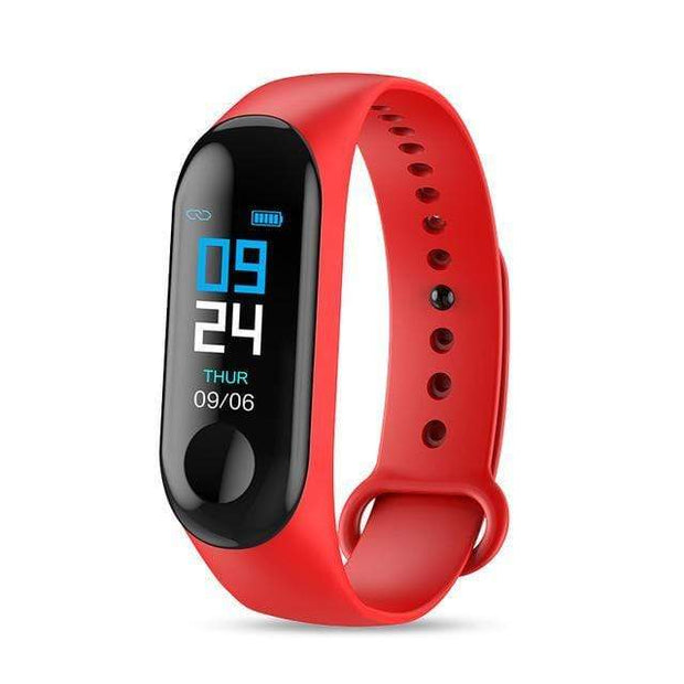 Gym accessories online red Smart Fitness Tracker