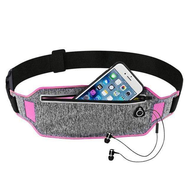 Gym accessories online bag pink Sport Waist Bag for Running