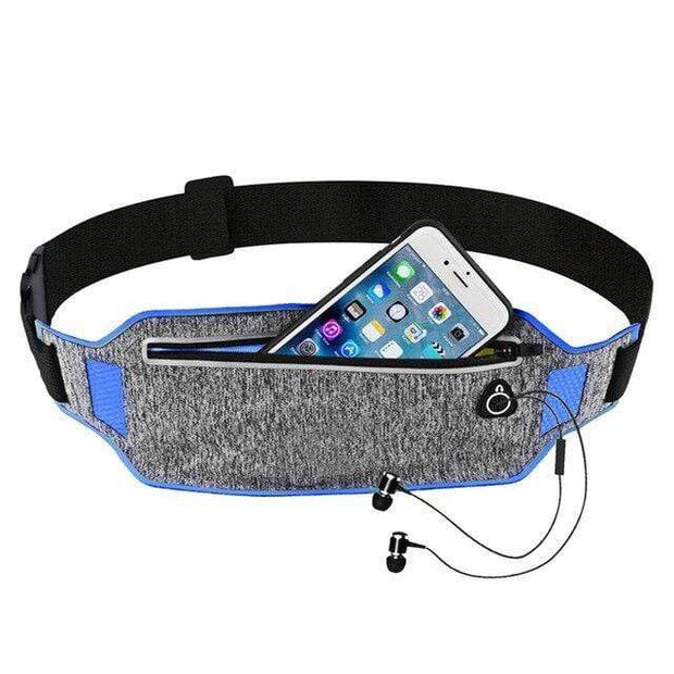 Gym accessories online bag blue Sport Waist Bag for Running