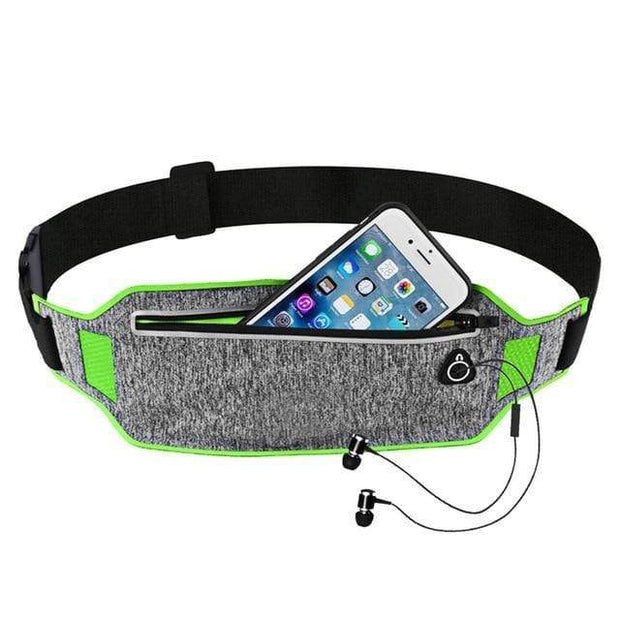 Gym accessories online bag green Sport Waist Bag for Running
