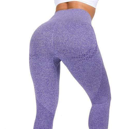Gym accessories online Leggings purple / S Stretch High Waist  Fitness & Yoga Leggings