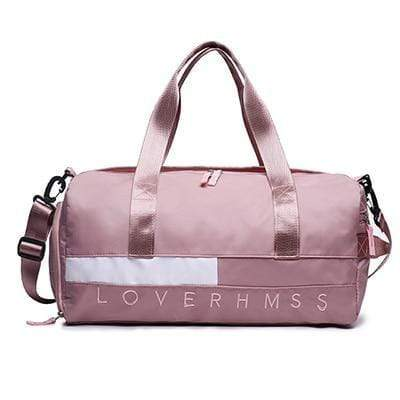 Gym accessories online bag Pink 02 Training Separated Waterproof Yoga/Gym Bag