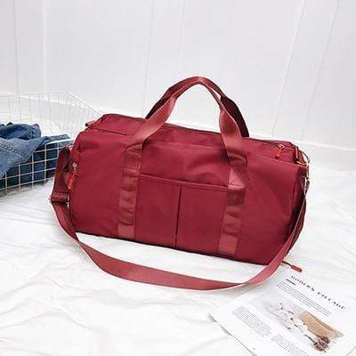 Gym accessories online bag Red Training Separated Waterproof Yoga/Gym Bag
