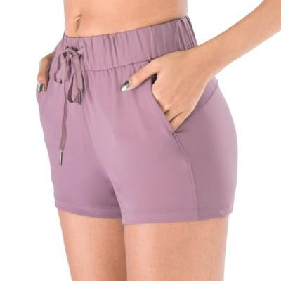 Gym Accessories Online Lavender / M Tummy Control Workout / Yoga Shorts