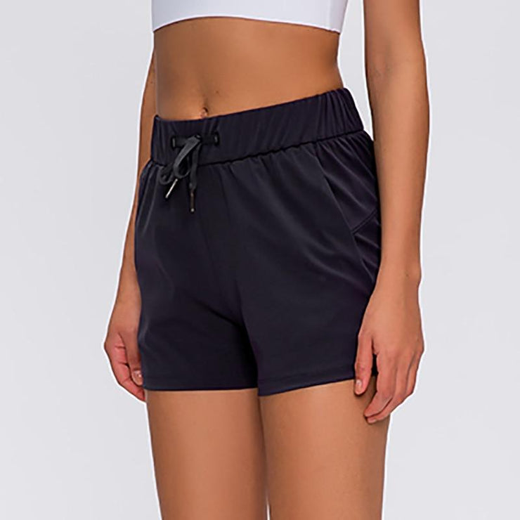 Gym Accessories Online Tummy Control Workout / Yoga Shorts