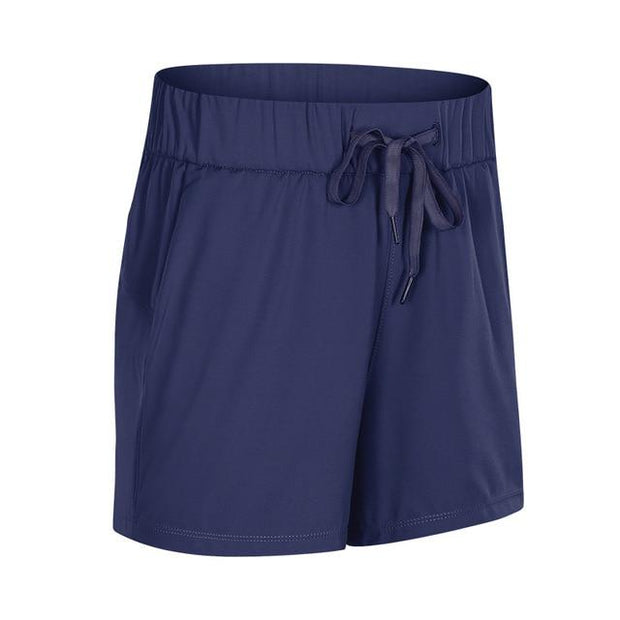 Gym Accessories Online Dark Blue / M Tummy Control Workout / Yoga Shorts
