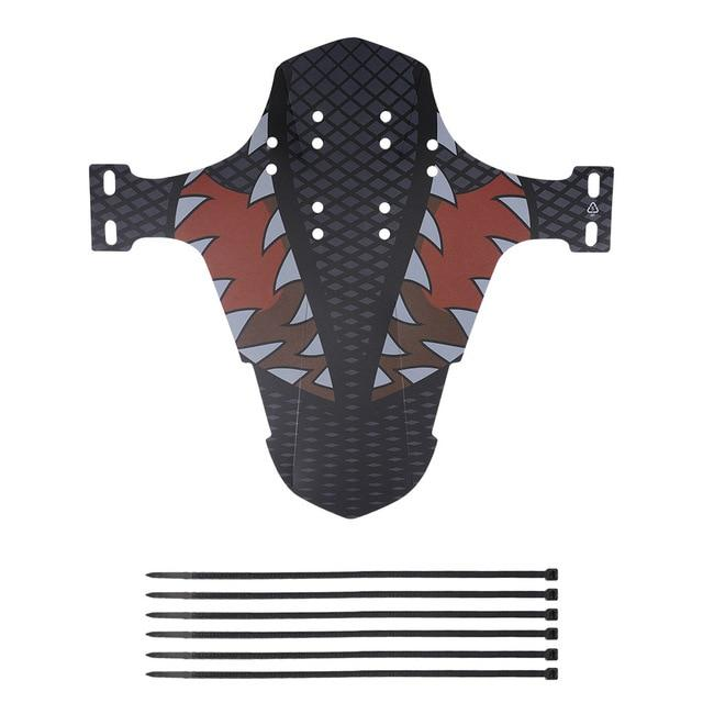 Gym Accessories Online B / United States Universal Bicycle Carbon Fiber Mudguard Front/Back