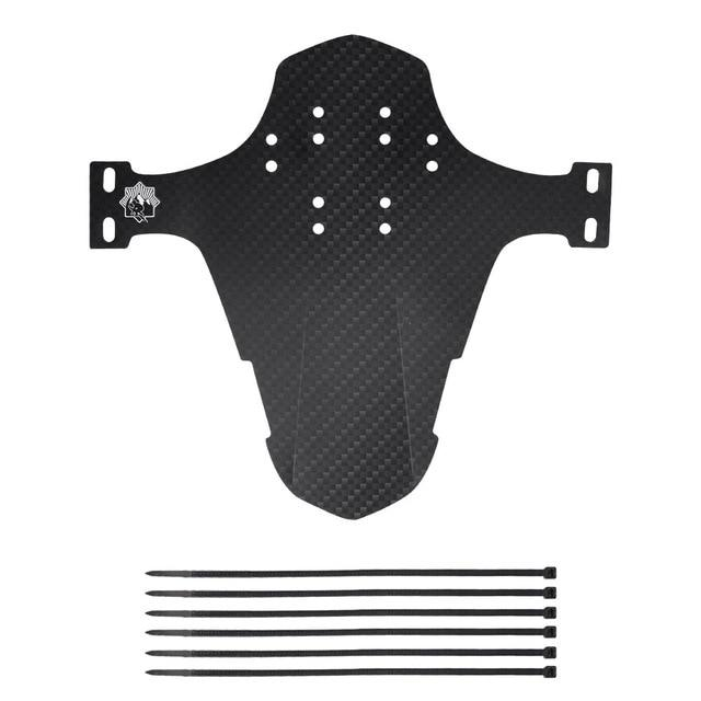 Gym Accessories Online A / United States Universal Bicycle Carbon Fiber Mudguard Front/Back