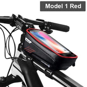 Gym Accessories Online Model 1 Red Waterproof Bicycle Bag