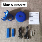 Gym Accessories Online Blue Waterproof Bicycle Bluetooth Speaker